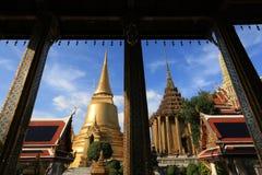 Wat Phra Kaew, Bangkok, Tajlandia Zdjęcie Royalty Free