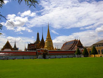Wat Phra Kaew in Bangkok. The Temple of the Emerald Buddha Royalty Free Stock Image