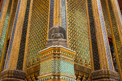 Wat Phra Kaew in Bangkok - Temple of Emerald Buddh Royalty Free Stock Photos