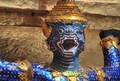 Wat Phra Kaew in Bangkok or the Temple of the Emerald Buddha Stock Image