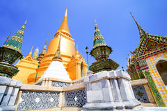 Wat Phra Kaew, Bangkok, Thaiand Stockbild