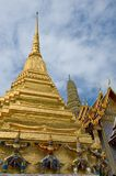Wat Phra Kaew, Bangkok, Thailand royaltyfria foton