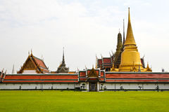 Wat Phra Kaew in Bangkok, Thailand. Royalty Free Stock Images