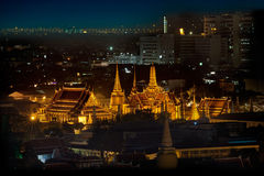 Wat Phra Kaew at bangkok, thailand Royalty Free Stock Photo