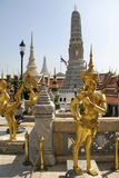 Wat Phra Kaew in Bangkok Thailand Royalty Free Stock Photography