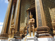 Wat Phra Kaew Bangkok Thailand Lizenzfreie Stockfotos