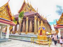 Wat Phra Kaew, Bangkok, Thailand stock images