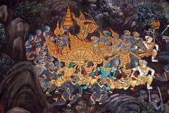 Wat Phra Kaew in Bangkok, Thailand Stock Images