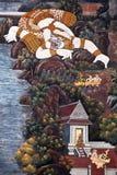 Wat Phra Kaew in Bangkok, Thailand Stock Photos