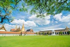 Wat Phra Kaew in Bangkok of Thailand Stock Photos