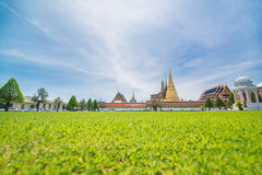 Wat Phra Kaew in Bangkok of Thailand. Wat Phra Kaew or the Temple of Thailand in bangkok, Public architecture,Public domain Stock Photos