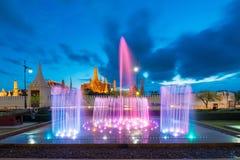 Wat Phra Kaew in Bangkok of Thailand. Wat Phra Kaew or the Temple of Thailand in bangkok, Public architecture,Public domain Stock Images