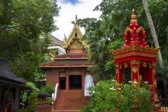 Wat Phra Kaew, Chiang Rai, Thaïlande Photo stock