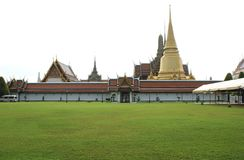Wat Phra Kaew Complex. The Temple of the Emerald Buddha in Bangkok, Thailand, Asia. Stock Photography