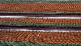Wat-phra-kaew dos templos do telhado Fotos de Stock