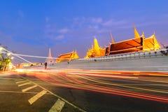 Wat Phra Kaew - el templo de Emerald Buddha en Bangkok, Tailandia Imágenes de archivo libres de regalías
