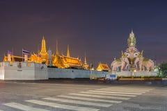 Wat Phra Kaew eller tempel av Emerald Buddha Royaltyfria Foton