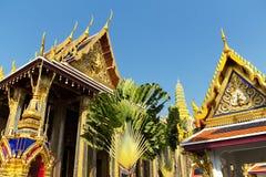 Wat Phra Kaew em Banguecoque, Tailândia Foto de Stock Royalty Free