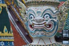 Wat Phra Kaew en Bangkok o el templo de Emerald Buddha Imagen de archivo libre de regalías