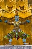 Wat Phra Kaew en Thaïlande, Bangkok Photo libre de droits