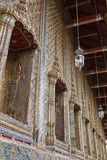 Wat Phra Kaew. Exterior of Wat Phra Kaew, Thailand Royalty Free Stock Photography