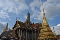 Wat Phra Kaew família real em Banguecoque, Tailândia Foto de Stock Royalty Free