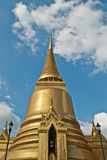 Wat Phra Kaew,Grand Palace in Bangkok. Ancient  architecture asia asian bangkok, blue Royalty Free Stock Photo