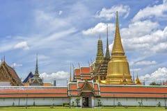 Wat Phra Kaew Grand Palace Bangkok Lizenzfreies Stockfoto