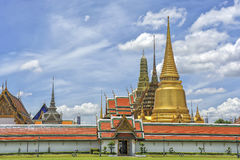 Wat Phra Kaew Grand Palace Bangkok Royalty Free Stock Photo