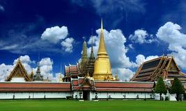 Wat Phra Kaew Grand Palace Bangkok. The temples of Wat Phra Kaew Grand Palace in Bangkok, Thailand stock photography