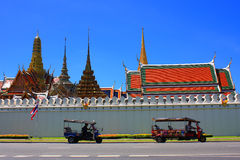 Wat phra kaew, Grand palace, Bangkok, Thailand Stock Photography