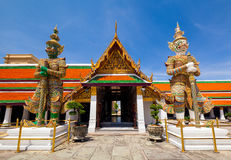 Wat phra kaew, Grand palace, Bangkok, Thailand Stock Photo