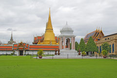Wat Phra Kaew and the Grand Palace complex in Bangkok, Thailand Royalty Free Stock Images