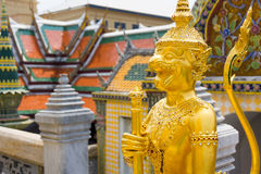 Wat Phra Kaew or Grand Palace Stock Images