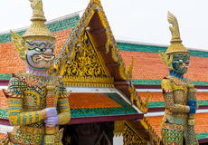 Wat Phra Kaew or Grand Palace Royalty Free Stock Photo