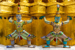 Wat Phra Kaew or Grand Palace Royalty Free Stock Images