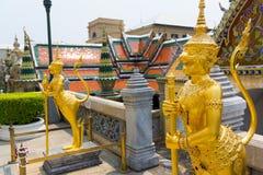 Wat Phra Kaew or Grand Palace Stock Photo