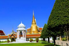 WAT PHRA KAEW AND GRAND PALACE Stock Photography