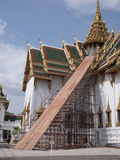 Wat Phra Kaew (the Grand Palace) of Thailand. Stock Images
