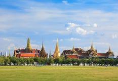 Wat phra kaew, großartiger Palast, Bangkok, Thailand Lizenzfreies Stockbild