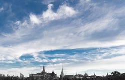 Wat Phra Kaew, gruntowa ocena Bangkok, Tajlandia Obrazy Royalty Free