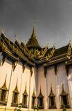 Wat Phra Kaew, in het Engels als Tempel van Emerald Buddha of het grote paleis algemeen wordt bekend dat wordt beschouwd als heil royalty-vrije stock foto
