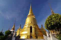 Wat Phra Kaew i bangkok av Thailand Royaltyfria Foton