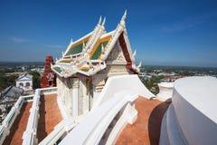 Wat Phra Kaew i Khao Wang, Phetchaburi Royaltyfri Fotografi