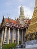 Wat Phra Kaew (il grande palazzo) della Tailandia Fotografia Stock