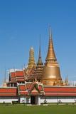 Wat Phra Kaew, il tempiale verde smeraldo del Buddha Immagini Stock