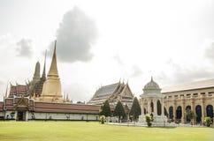 Wat Phra Kaew: Il tempio reale tailandese Fotografie Stock