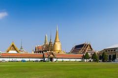 Wat Phra Kaew ist Tempel Emerald Buddhas, Bangkok, Thailand Lizenzfreies Stockbild