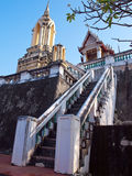 Wat Phra Kaew in Khao Wang (Phra Nakhon Khiri Historical Park) royalty free stock image