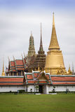 Wat Phra Kaew. The landmark of Bangkok, where is the place of Emerald Buddha Stock Photography